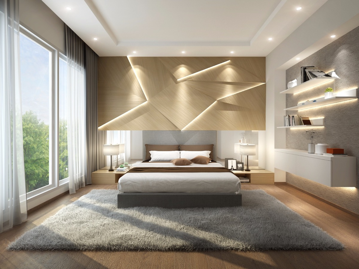 28+ [ bedroom wall panels ] | 7 bedrooms with brilliant accent