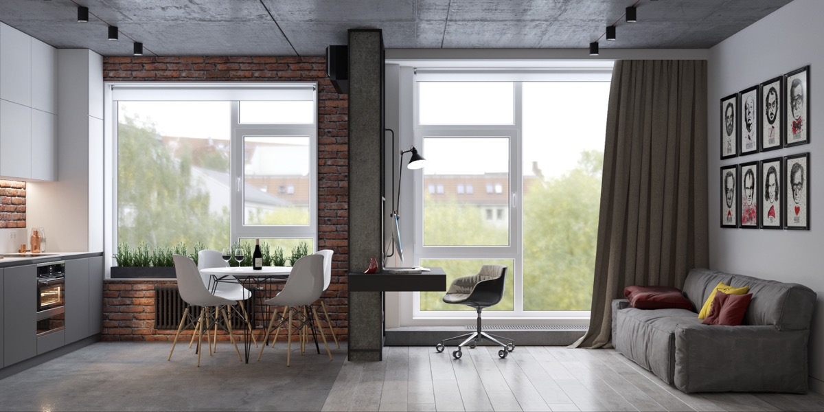 modern-industrial-apartment-with-exposed-brick-walls