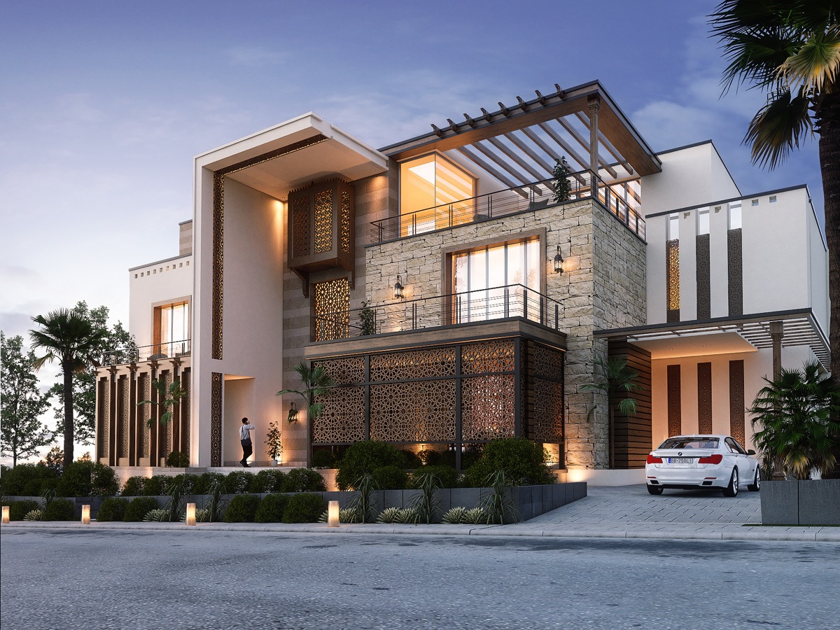 gorgeous and attractive house design