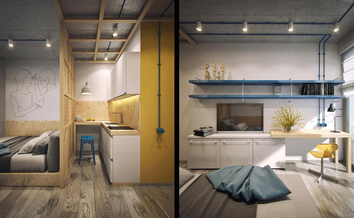modular-studio-apartment-design