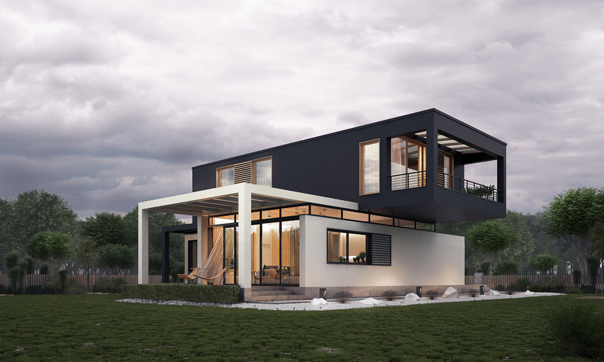 Types Of Modern Home Exterior Designs With Fashionable and ... on Modern House Ideas  id=42733