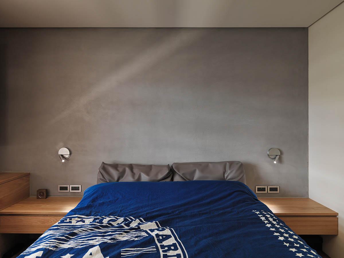simple modern gray-bedroom