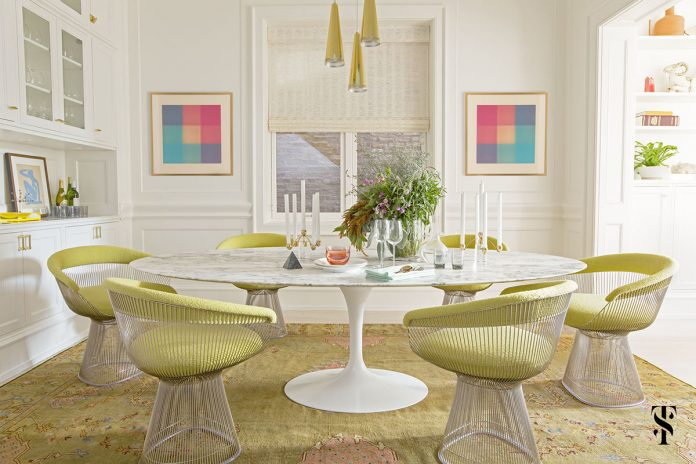 chic dining room designs