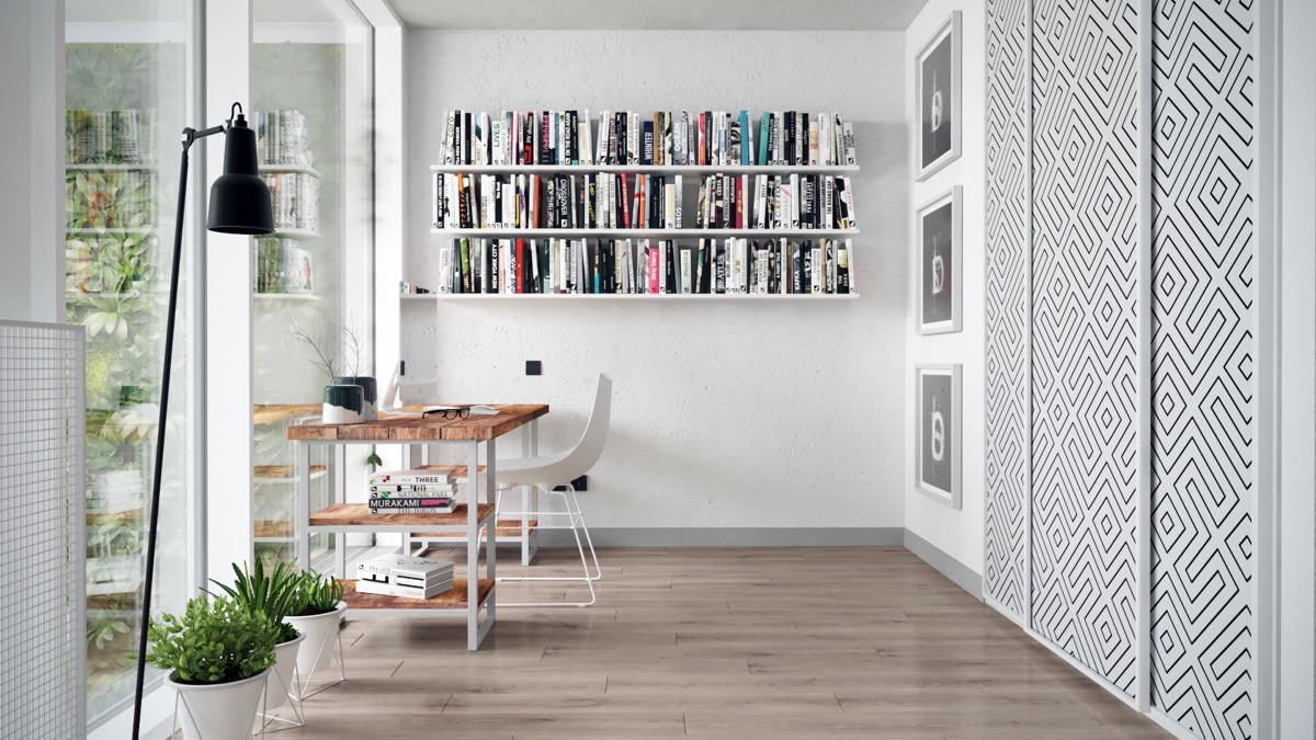 small-apartment-library-inspiration