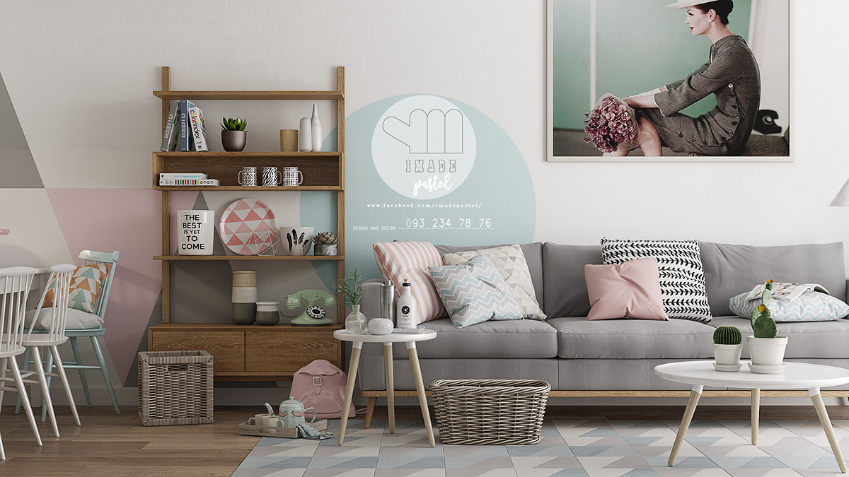 Scandinavian Interior Designs With Pastel And Lightly Colour Wood Bring Out A Comfort Zone