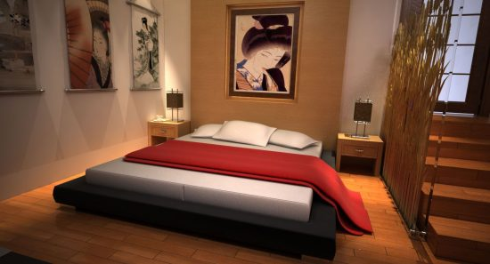 Japanese bedroom designs with showing modern and for Japanese bedroom designs