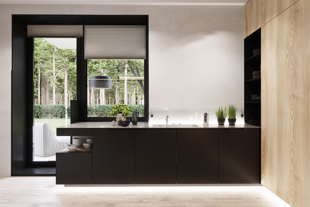 black-cupboard-kitchen-patio