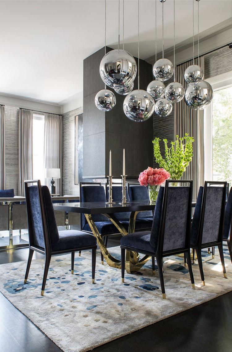 dark luxury dining room ideas