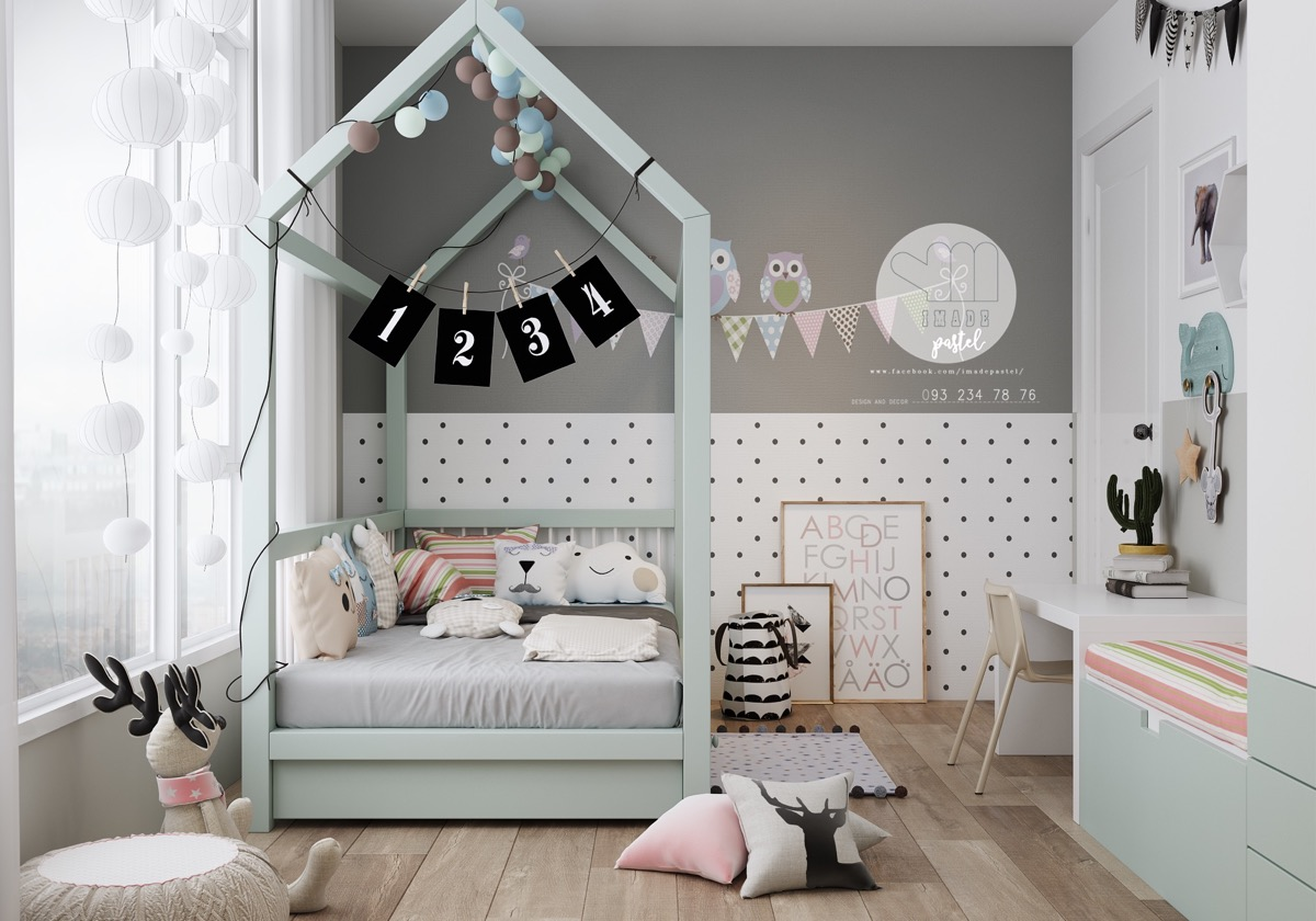 sophisticated kids room design