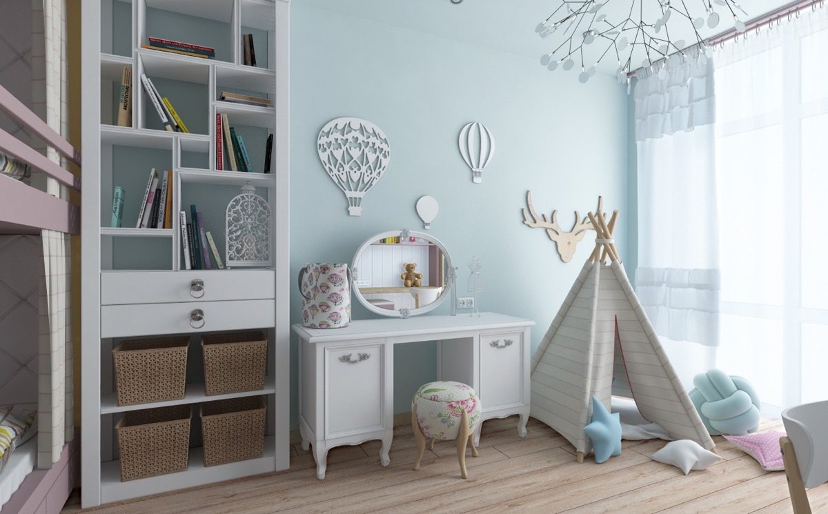 kids-teepee for kids bedroom decor