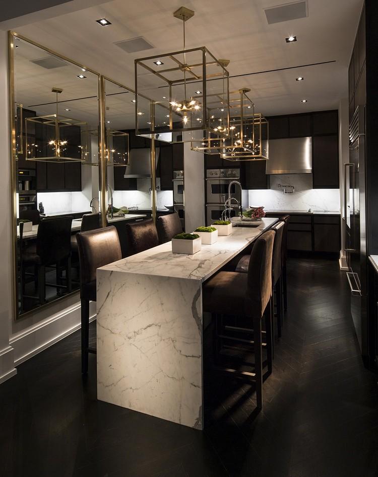 luxurious monochrome dining room ideas