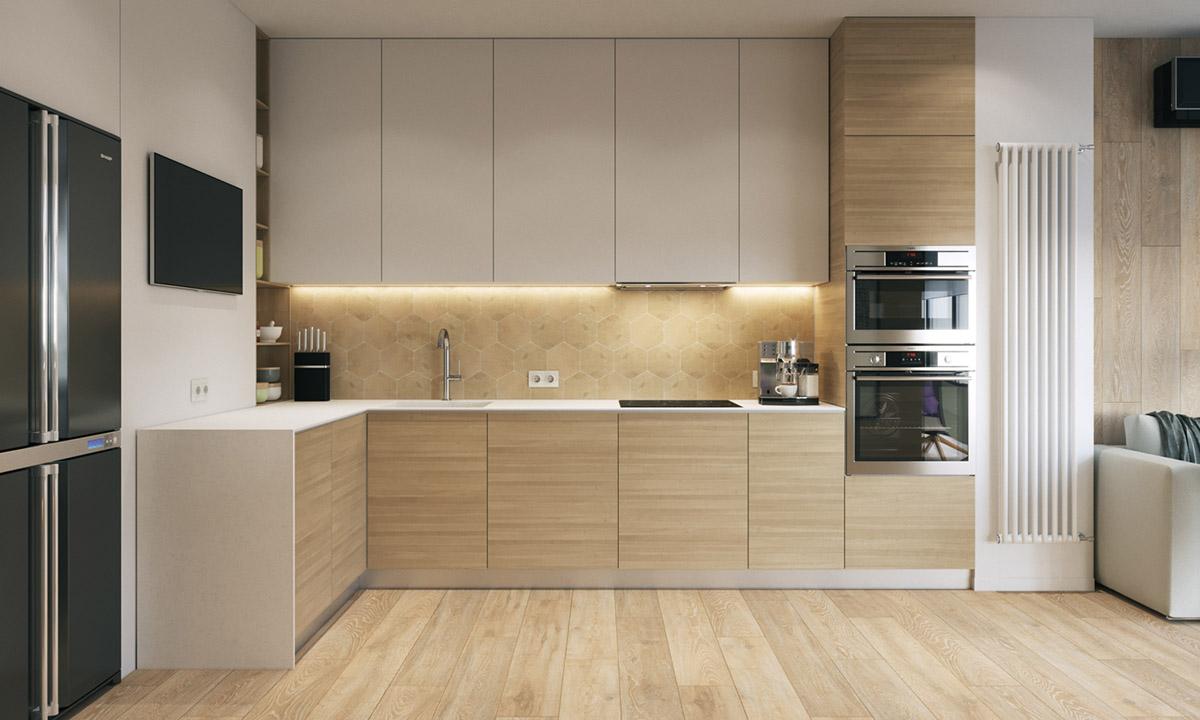 modern-wood-and-white-kitchen