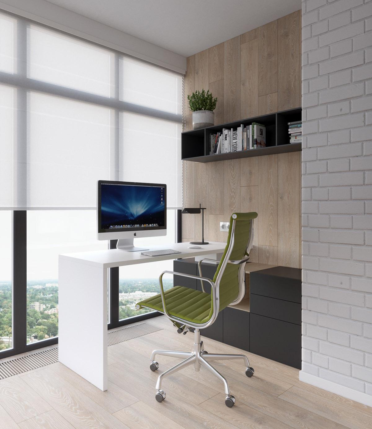 simple workdesk design