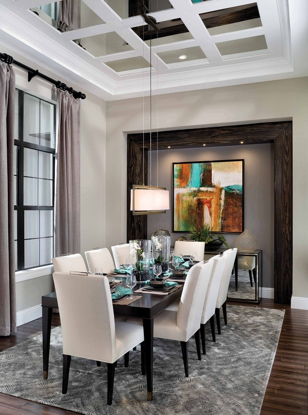 traditional charming dining room design