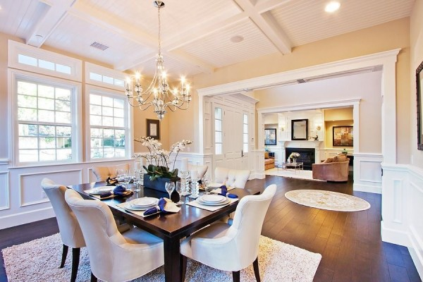 Peter Marino Traditional Classic Dining Room Design