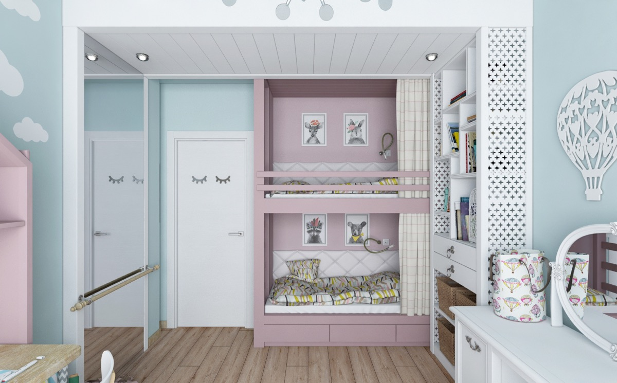 whimsical-kids-room design idea