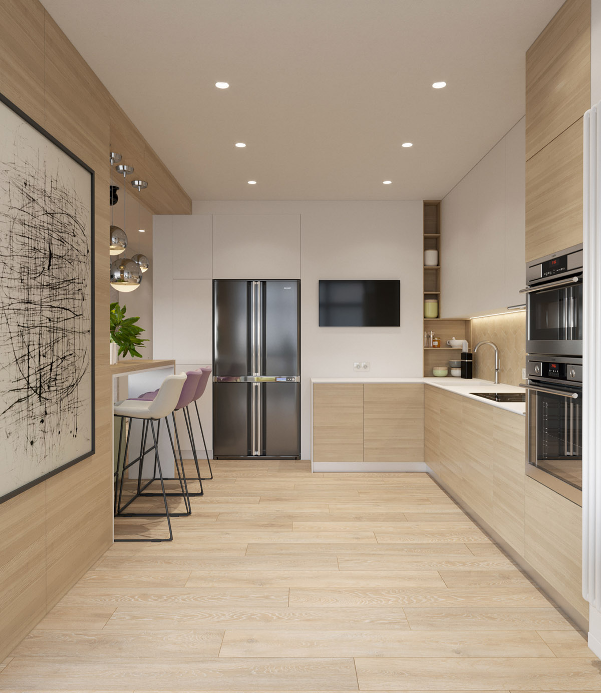 wood-and-white-kitchen-design