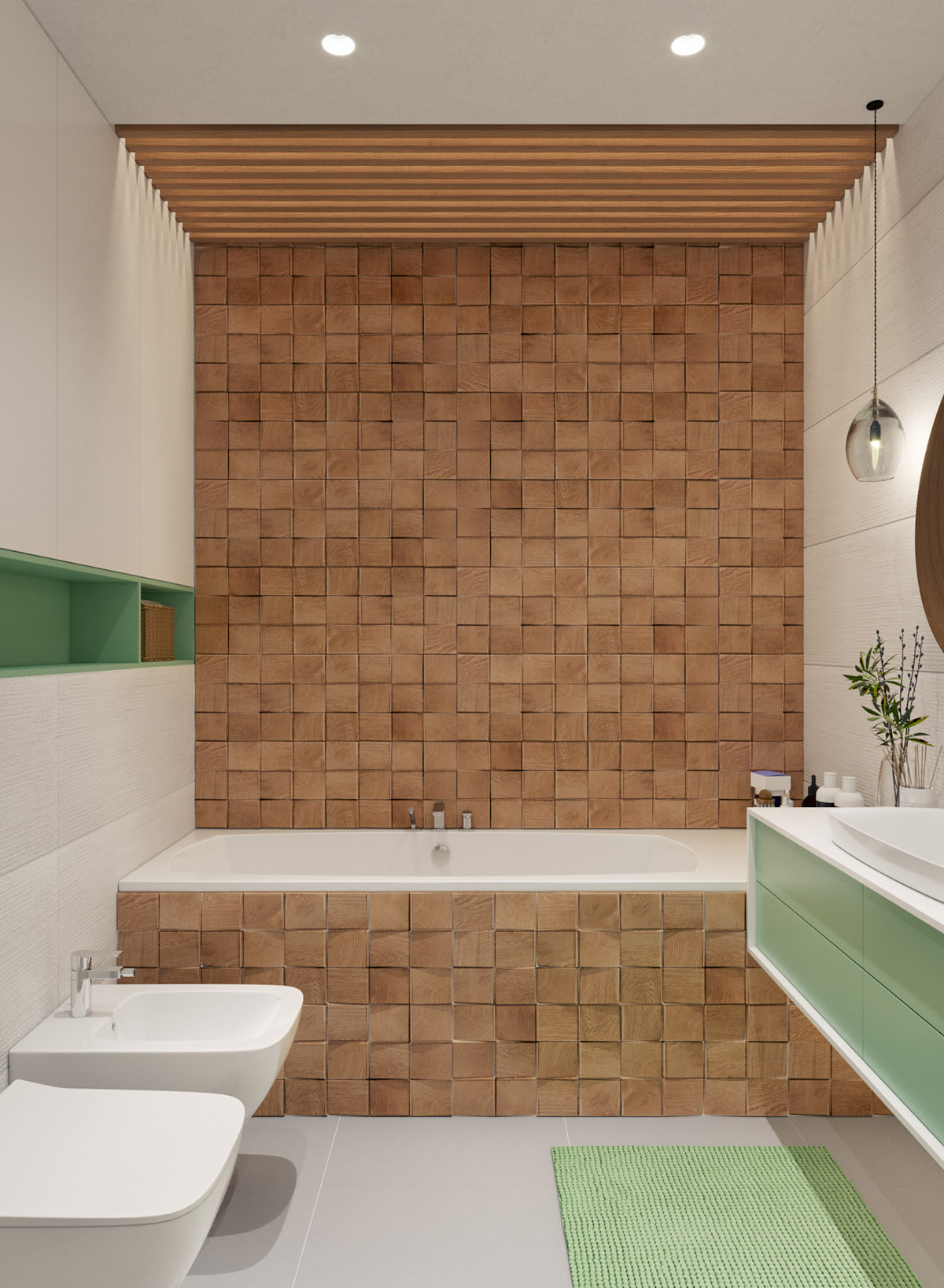 wood-tile-bathtub-enclosure