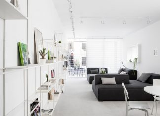 modern minimalist apartment interior design