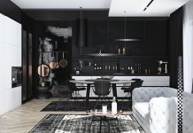 black-home design ideas