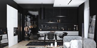 black-home design ideas