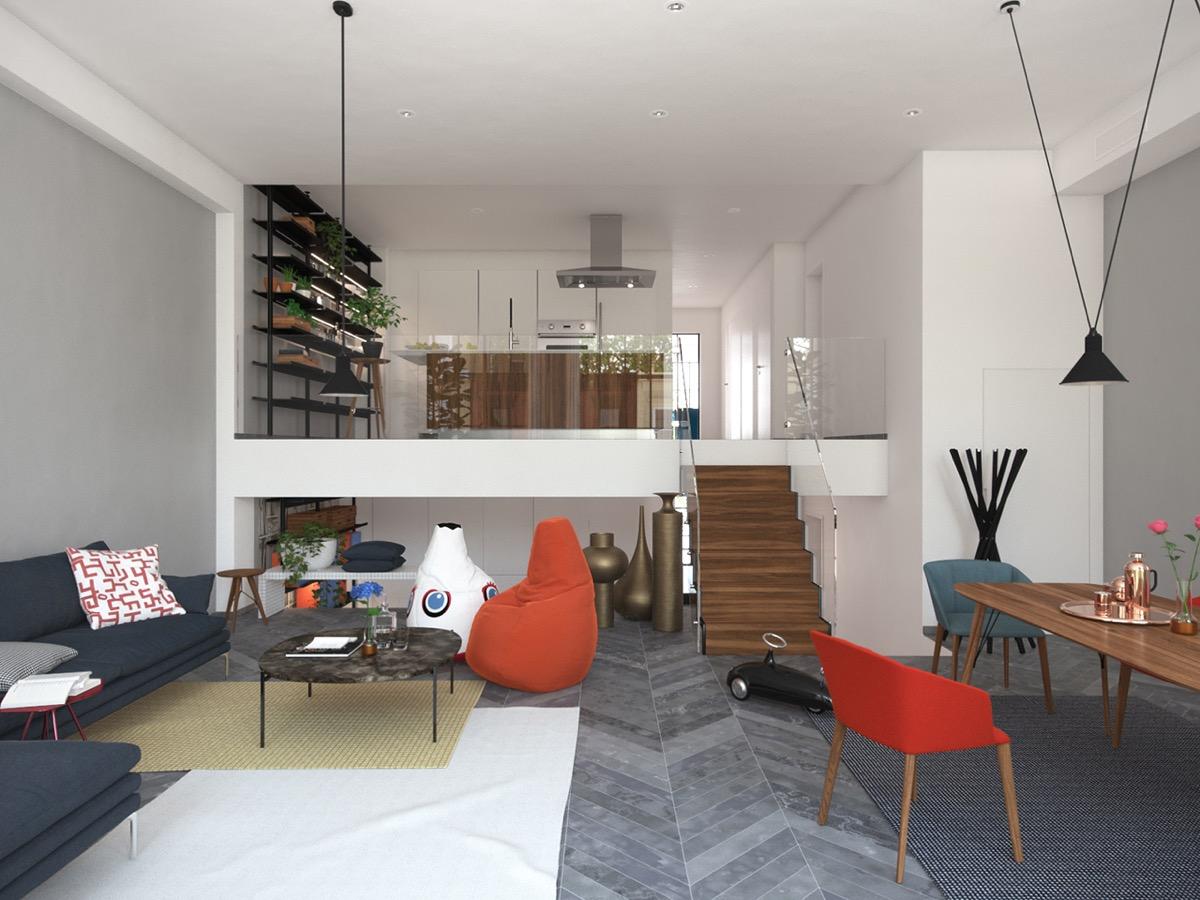 chic modern home design