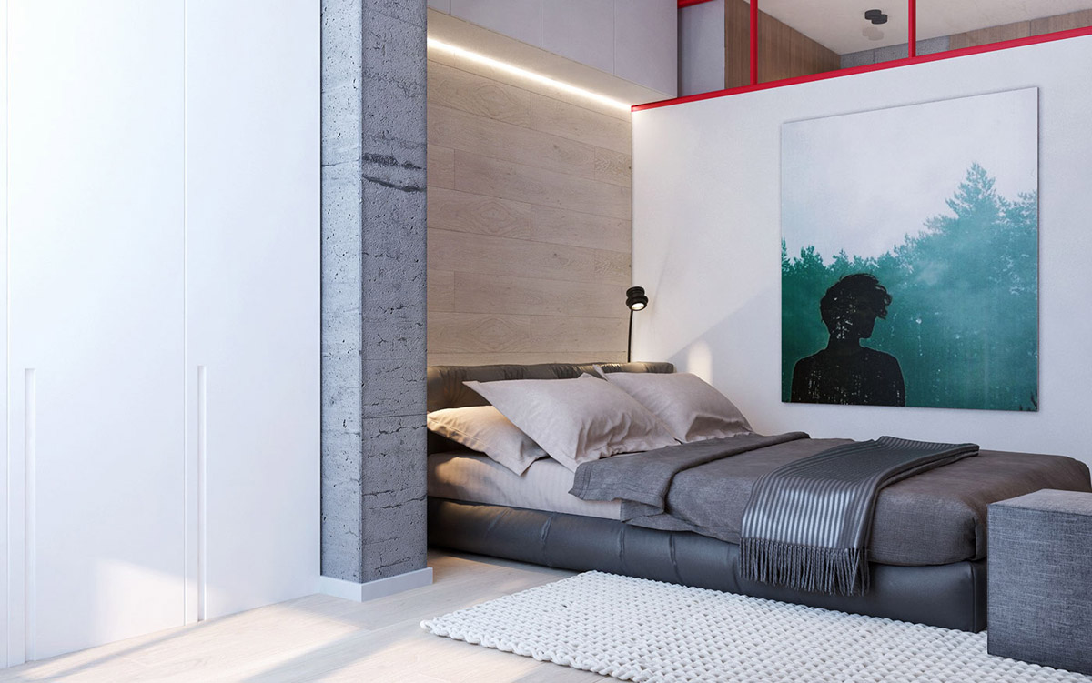 cozy modern bedroom design