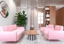 sleek studio apartment design