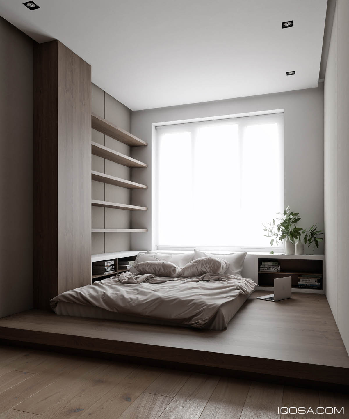 Sophisticated small home design inspiration with luxury for Small bedroom design minimalist
