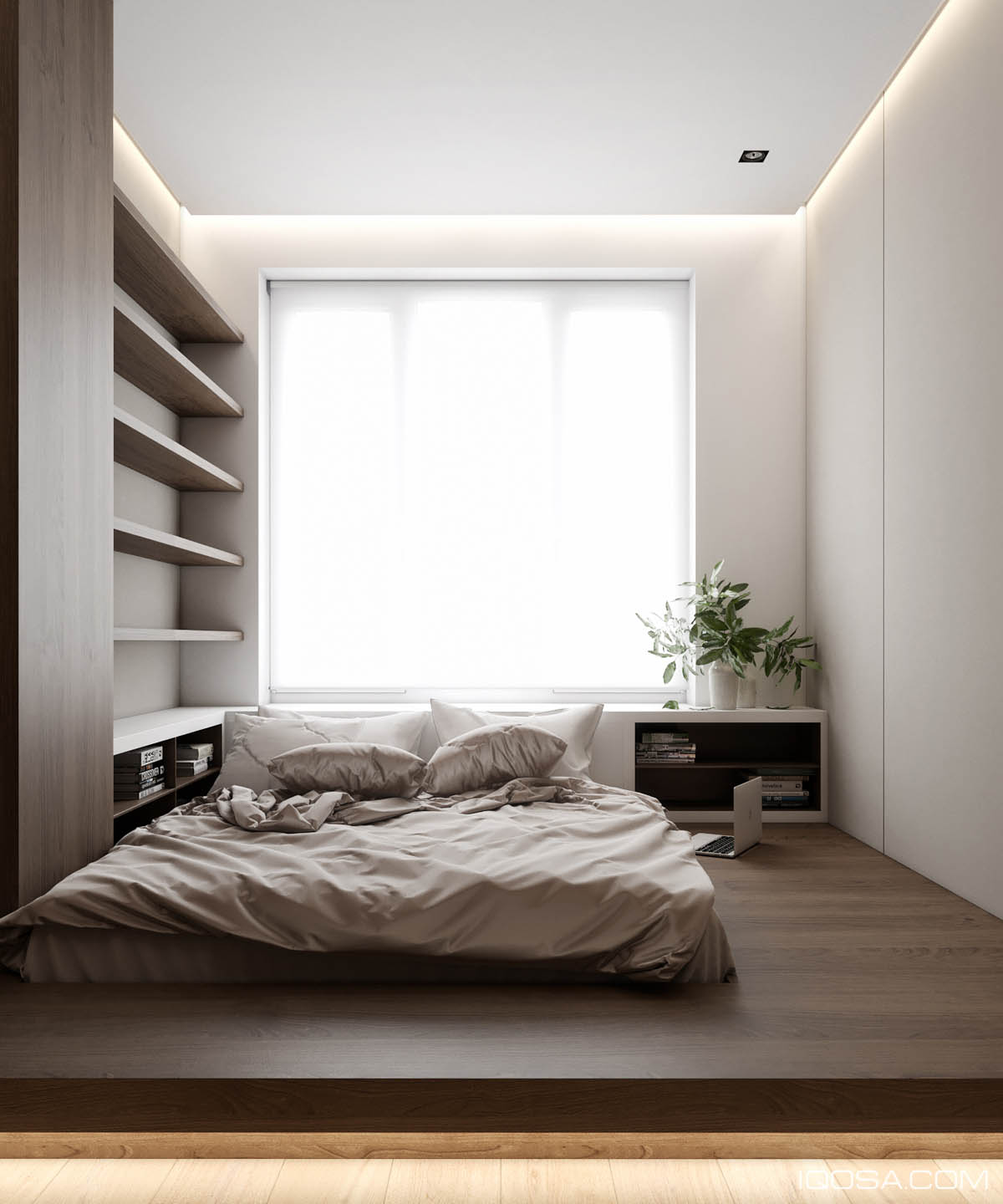 minimalist storage for small bedrooms