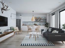 modern Scandinavian style design