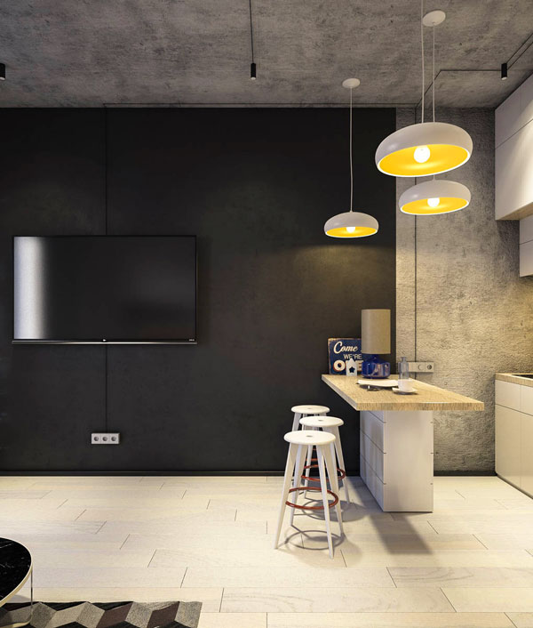 black-white-and-concrete-small-apartment