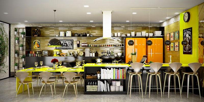 Open Kitchen Shelving for Sleek Kitchen Design Ideas - RooHome