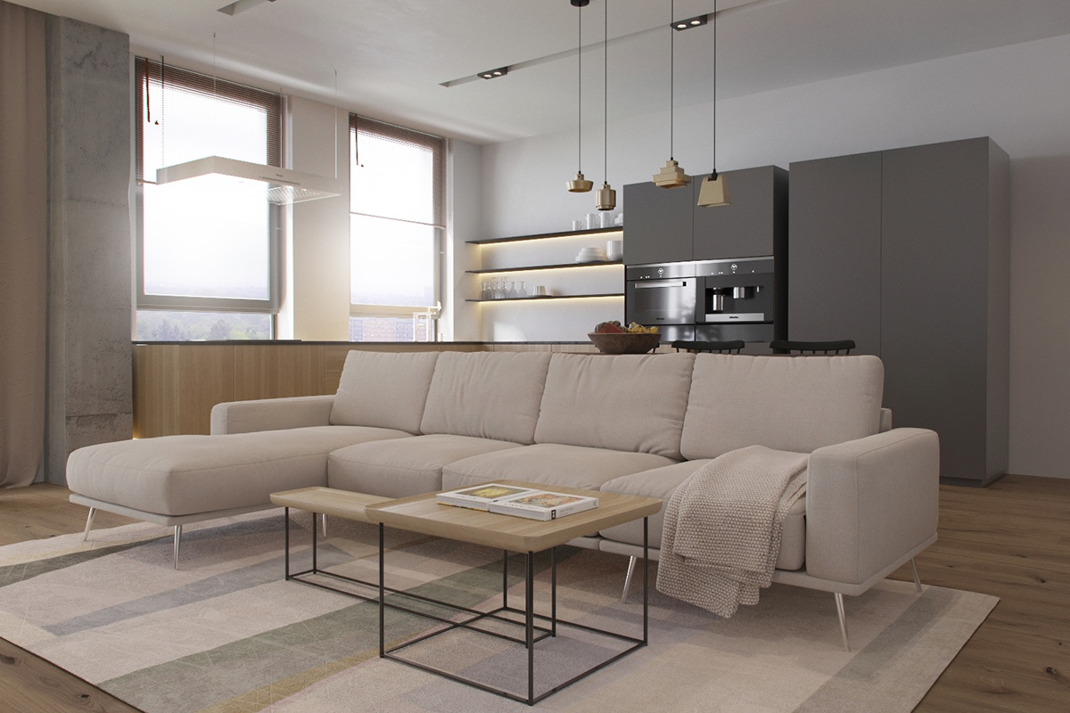 eclectic-pendant-lighting for living room