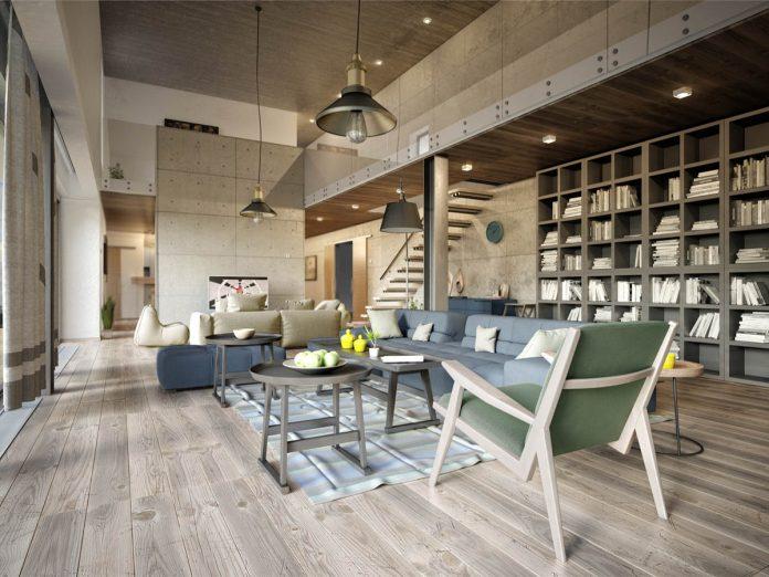 modern apartment concept