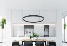 black and white dining room designs