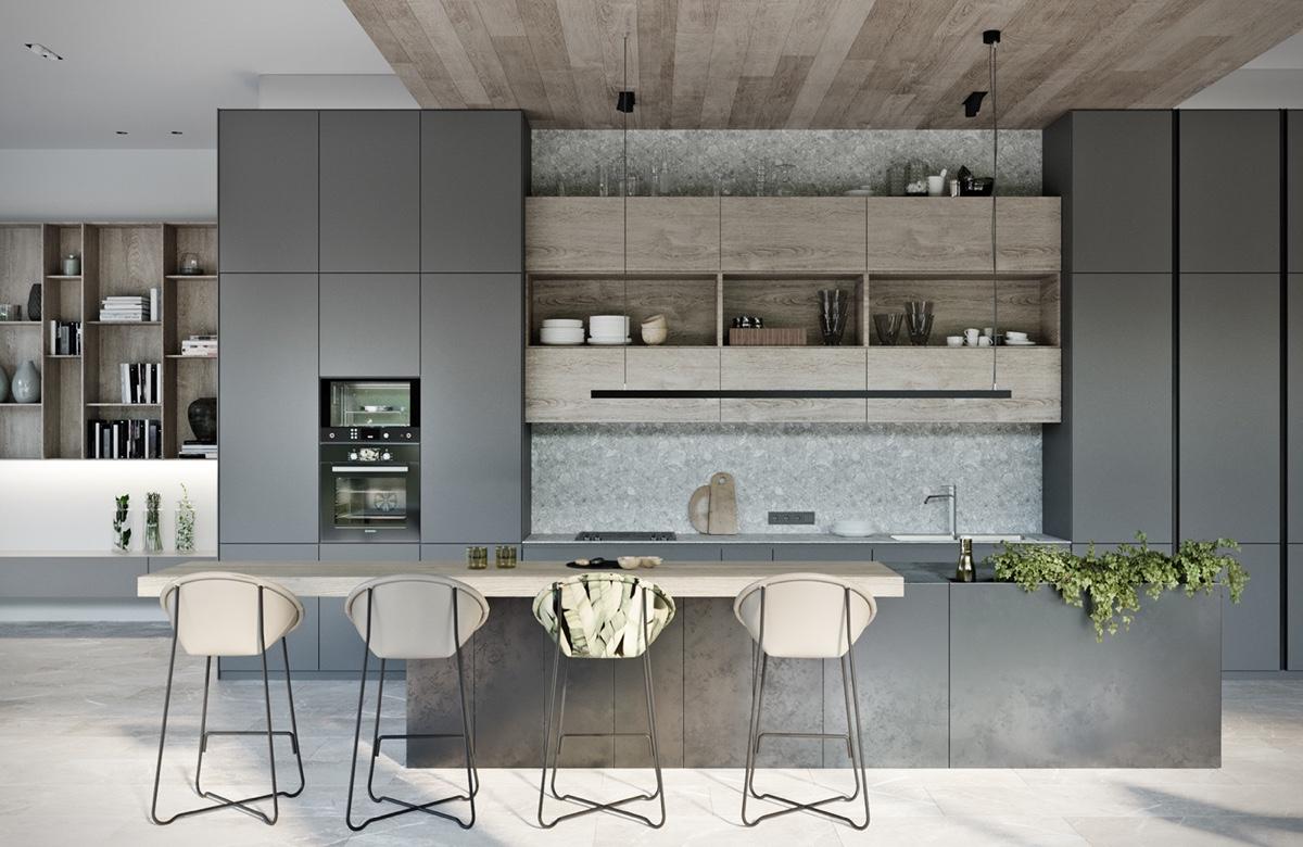 modern kitchen barstools