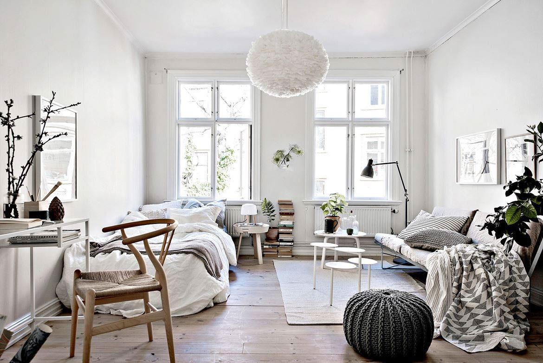 scandinavian-bedroom layout
