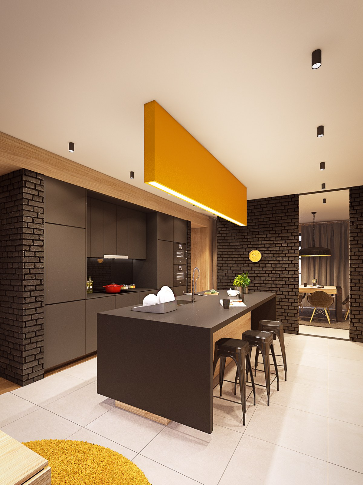 slick-kitchen arrangement