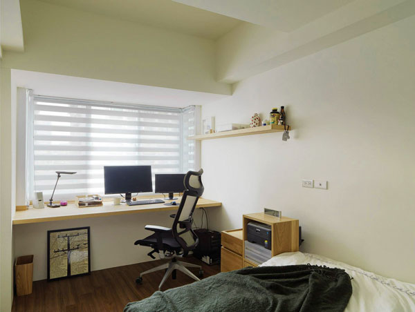small-office-design-for-small-apartment-bedroom