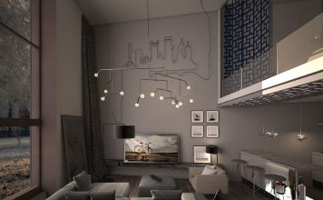 sleek living room concept