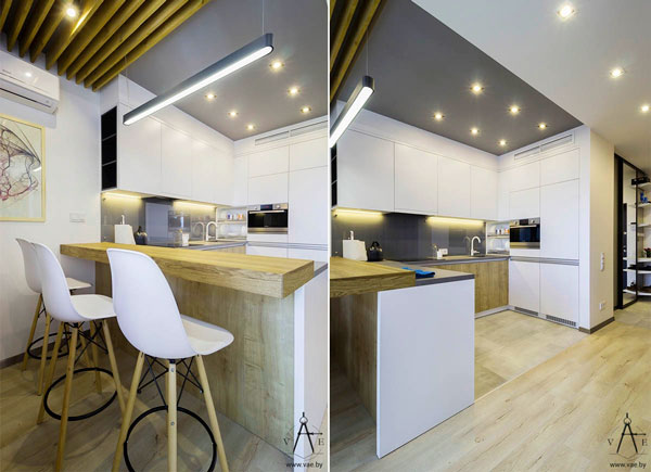 white-and-wood-small-kitchen-design