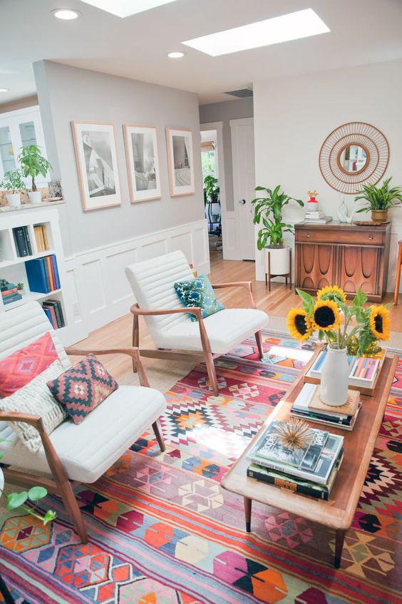 Contemporary home interior deisgn concept