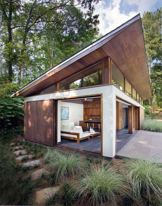 Minimalist exterior home design