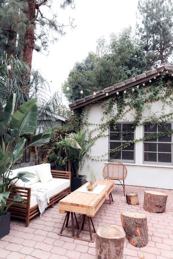 Minimalist exterior home design concept