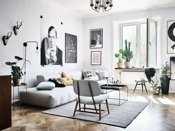 Minimalist home interior design