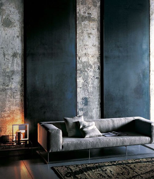 Modern Living Room Wall Texture1