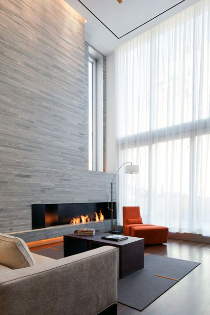 Modern Living Room Wall Texture2