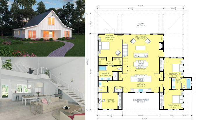 Ranch house design plans