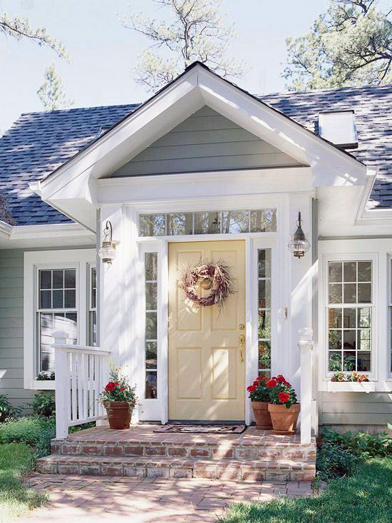 Ranch house exterior ideas